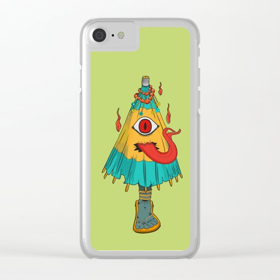 Kasa-Obake Clear iPhone Case