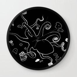 Octoclimber Wall Clock