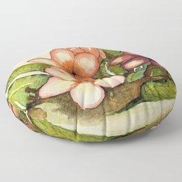 Plumeria Floor Pillow