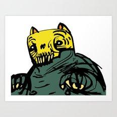 Spar Creature Art Print