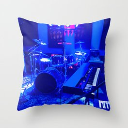 The Band Room Throw Pillow