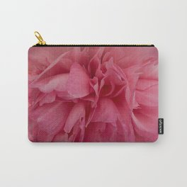 Rose Pink Peony by Teresa Thompson Carry-All Pouch