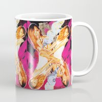 rihanna Mugs featuring Rihanna by GREATeclectic