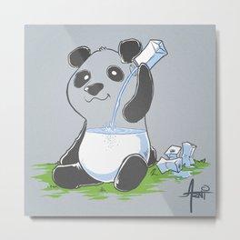 Panda in my FILLings Metal Print