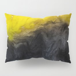 Vivid Mix Of Ink Clouds Pillow Sham