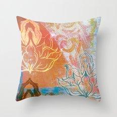 AnJali Mudra Throw Pillow