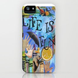 Fun by Seattle Artist Mary Klump iPhone Case