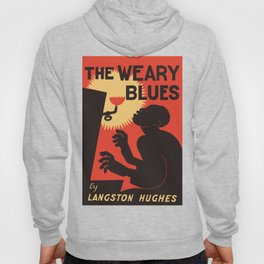 Retro The Weary Blues (music) Hoody