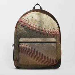 Baseballs and Glove Backpack