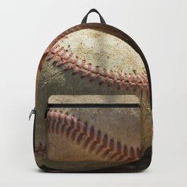 Baseballs and Glove Backpack