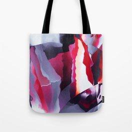 Uncut ruby texture Tote Bag