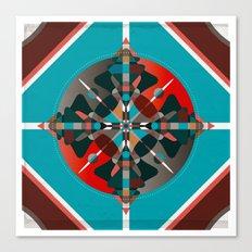Compass, Palette 2 Canvas Print
