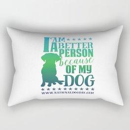 Dog Person Rectangular Pillow