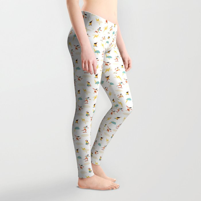 You go, girl pattern! Leggings