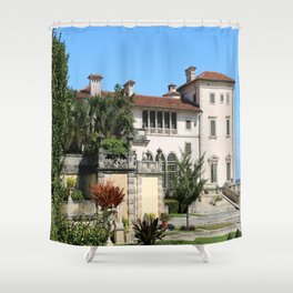 A Villa In Italien Style Shower Curtain