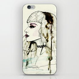 Fashion Illustration No.1 : Watercolour Illustration iPhone Skin