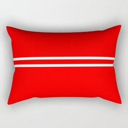 Retro #9 Rectangular Pillow