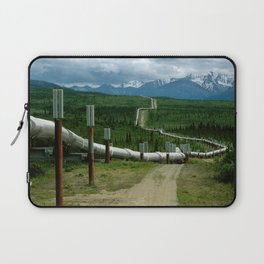 Alaska Pipeline Laptop Sleeve