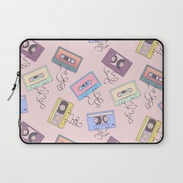 Cassette Pattern Laptop Sleeve