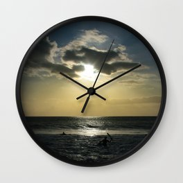 E ala mai o loko i ke kuhohonu o ke Aloha Kamaole Beach Wall Clock