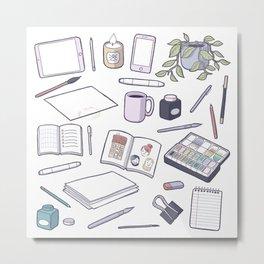 Make Art! Metal Print