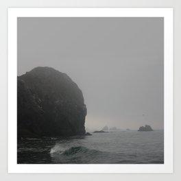 Ominous Tides Art Print