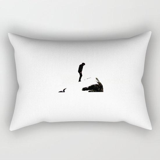 snowblind II. Rectangular Pillow