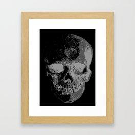 skullX Framed Art Print
