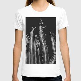 Cactus - black and white T-shirt