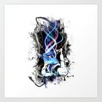 b-boy life Art Print
