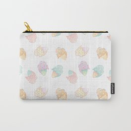 Pastel Melted Ice Cream (White) Carry-All Pouch