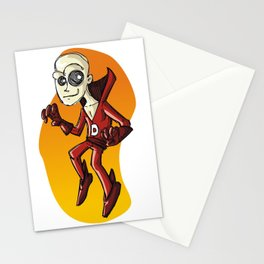 The man is DEAD! Stationery Cards