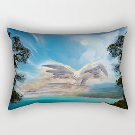 Support from Above Rectangular Pillow