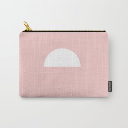 Pink Sun Carry-All Pouch