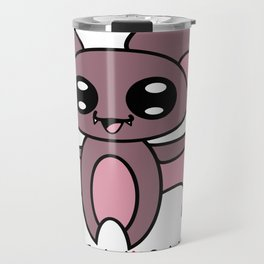 Yoru the kawaii bat who was afraid of the dark Travel Mug