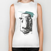 totem Biker Tanks featuring Totem by Mauricio Cosío