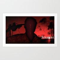 Sonatine  Art Print