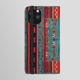 Anthropologie Ortiental Traditional Moroccan Style Artwork iPhone Wallet Case