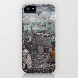 Home for the Harbor iPhone Case