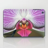 orchid iPad Cases featuring Orchid  by Sammycrafts