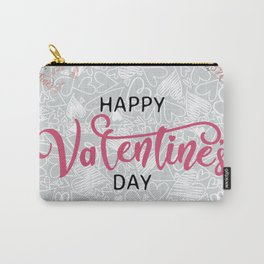 Happy Valentines Day Background Carry-All Pouch