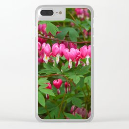 Bleeding Heart Clear iPhone Case