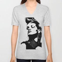 Rihanna. Unisex V-Neck