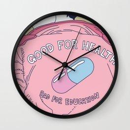 Ka-ne-da Wall Clock