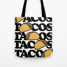 Taco Tuesday Tacos Forever Tote Bag