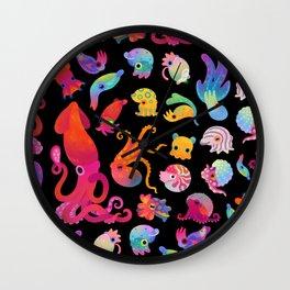 Cephalopod Wall Clock