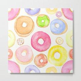 Donut Days Metal Print