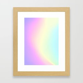 Holographic Texture #1 Framed Art Print