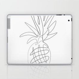 One Line Pineapple Laptop & iPad Skin