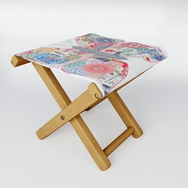 One Step at a Time Folding Stool